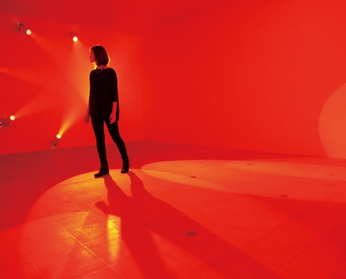 Light Show at Hayward Gallery, London. Photo by Linda Nylind. 27/1/2013.